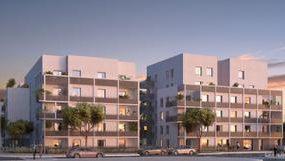 Programme immobilier NP35 appartement à Lyon 8ème (69008) Imaginée autour d'un coeur d'îlot paysagé