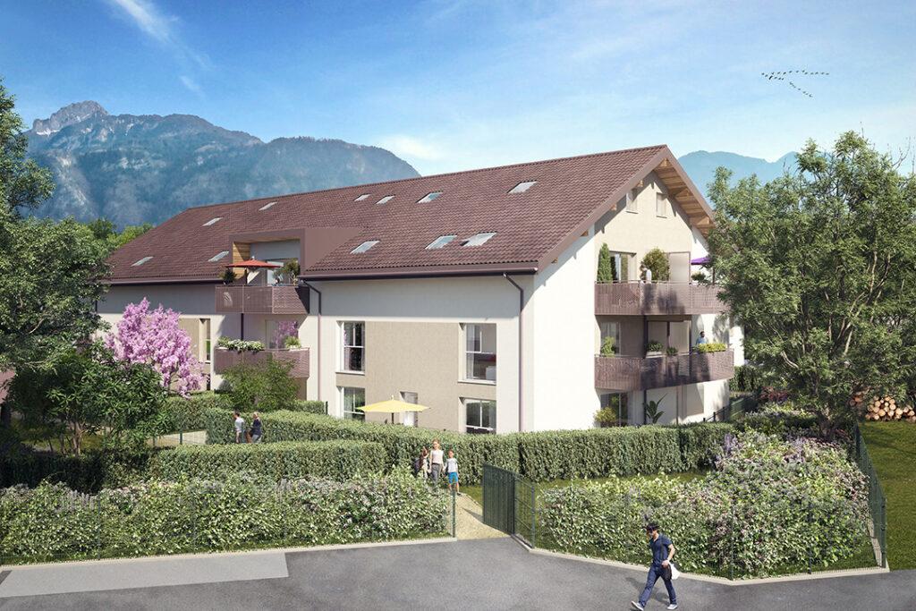 Programme immobilier LNC39 appartement à Saint Pierre En Faucigny (74800) Cadre de vie ressourçant