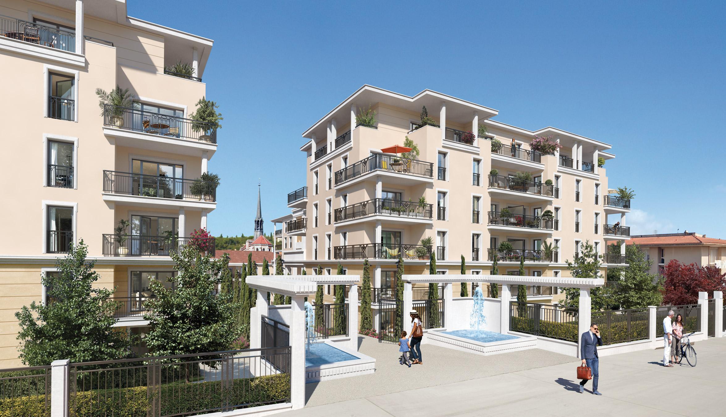 Programme immobilier ALT106 appartement à Aix-En-Provence (13100) À deux pas du parc Rambot
