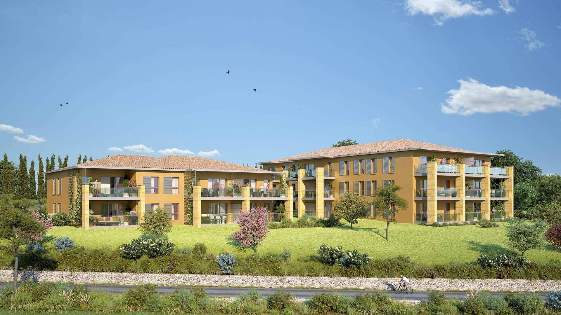 Programme immobilier KAB35 appartement à Aix-En-Provence (13100) Au cœur du quartier Saint Mitre